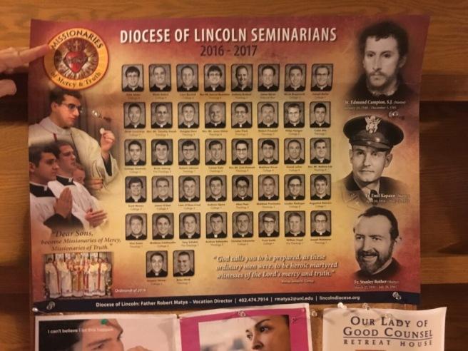 Lincoln Seminarians